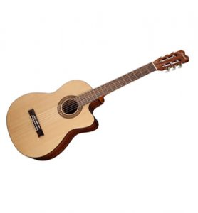 Jasmine JC25CE-Natural Classical Acoustic Electric Cutaway Guitar