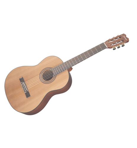 Jasmine JC27-Natural Full Size Classical Solid Top Guitar