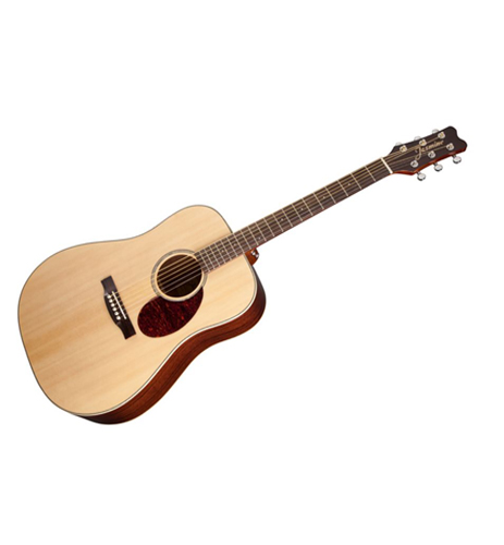 Jasmine JD37 Natural Dreadnought Acoustic Solid Top Guitar